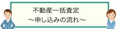 不動産一括査定〜申し込みの流れ〜