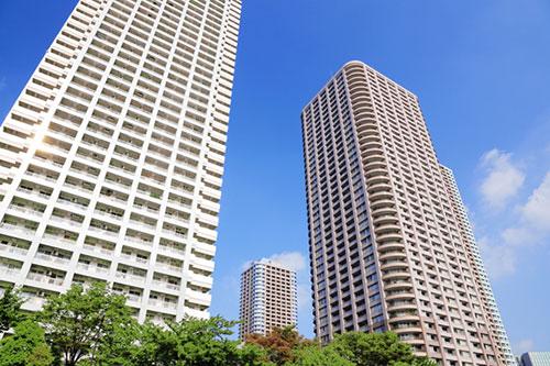 タワーマンションの画像