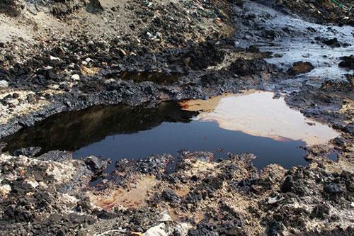 土壌汚染の画像